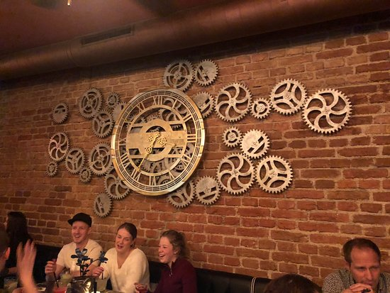 Steampunk Prague Bistro