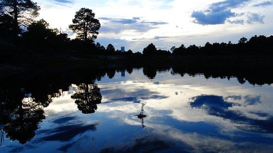 Creel, المكسيك: Lago de Arareco, short hike.