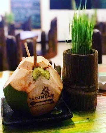 Try one of our signature coconuts in Bali