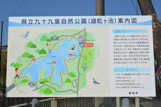 Pond Ojaga: 案内図