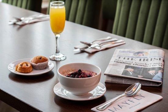 Mayfly Restaurant: Breakfast at Mayfly