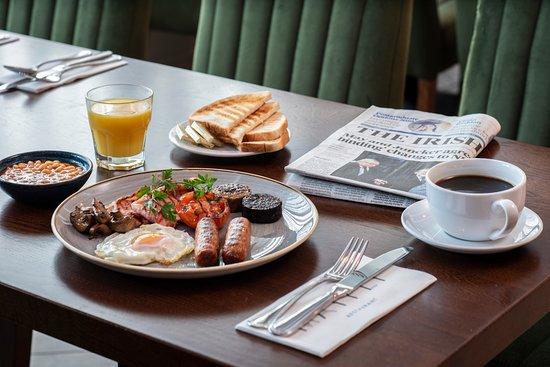 Mayfly Restaurant: Full Irish Breakfast - Start your day the right way!