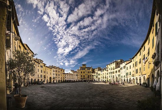 Lucca - the amphitheatre in the centre of Lucca, perfect little town for a wander....... https://www.tuscantennis.com/lucca---tuscany.html