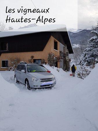 Les Vigneaux, ฝรั่งเศส: hiver 2019