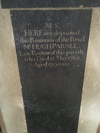 Rev.d Mr Hugh Parnll