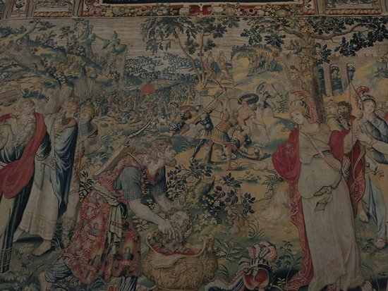 Bowood House and Gardens: Beautiful tapestry.