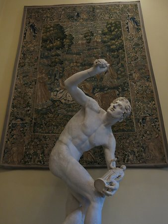 Bowood House and Gardens: Sculpture and tapestry.