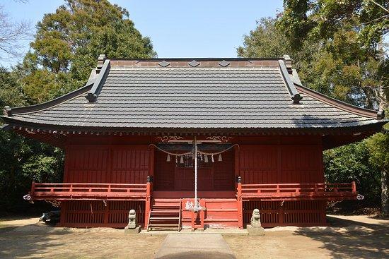 横芝光町, 千葉県, 拝殿正面