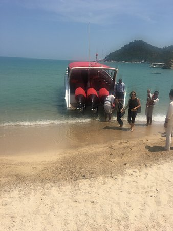 Arriving from Samui