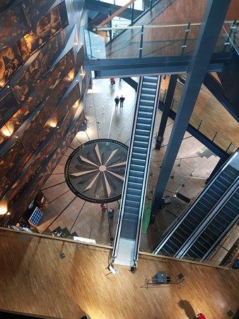 Belfast, UK: View from the top floor