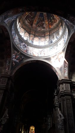 Basilica di Santa Maria di Campagna: La cupola vista dall'interno