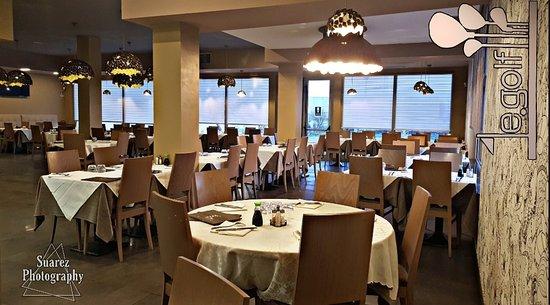 Il nostro ristorante: ampi spazi per garantire la massima comodità anche in caso di gruppi più numerosi!