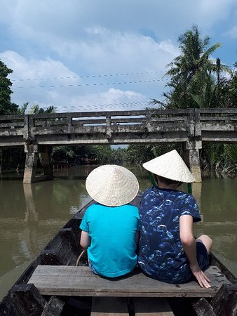 Amazing tour, highlight of our trip to Mekong Delta
