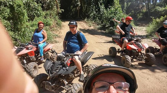 ATV Buggy Jungle Tours: group ATV