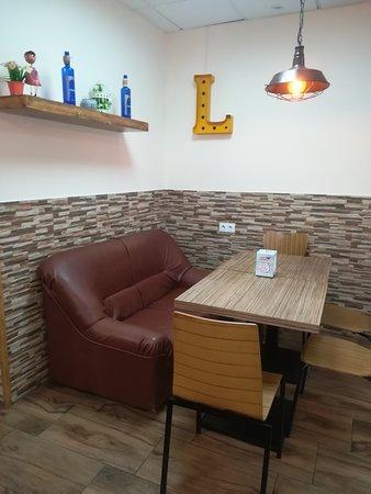 Nuestro rincón especial. Cafetería La Vieja Morla.