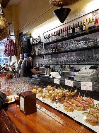 Restaurante Saibigain: カウンター