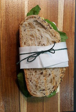 Goa Cafe: Sanduíche de Parma