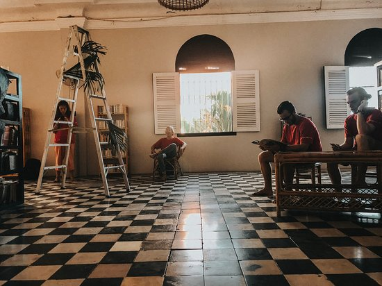 Ezra Library Cafe Photo