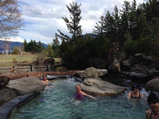 Skamania Lodge: hot tub