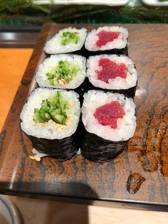 非常鮮美的握壽司