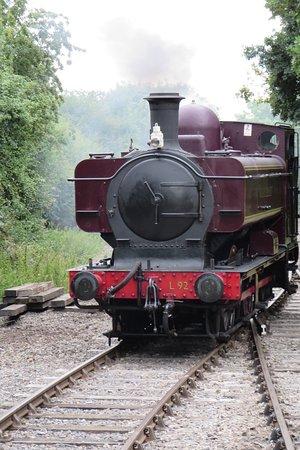 L92 Steam engine at Thame Junction