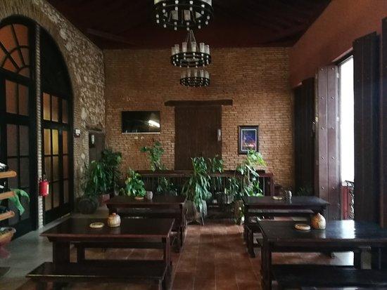 Inside 7 Juans pub in Santa Clara
