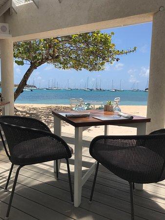 The Beach Club at Calabash: Our Table