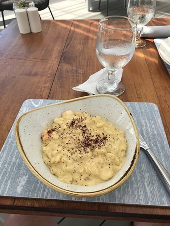 The Beach Club at Calabash: The best lobster Mac and Cheese