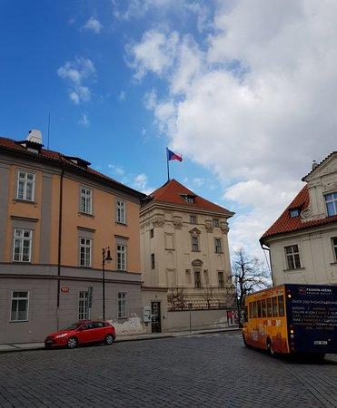 Nerudova Street: Great architecture