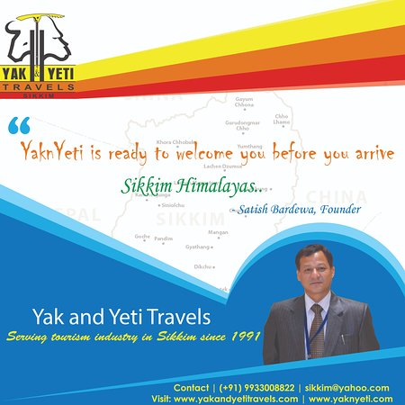 Sikkim Tour Operator Yak and Yeti travel