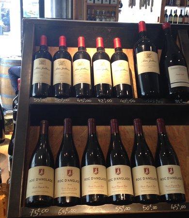 Part or Les Rouquins wine shop