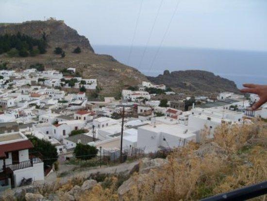 Rodos, Grčka: Lyndos sur l'île de Rhodes