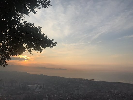 The scenery is absolutely gorgeous! You can sit in one of the cafes and drink Turkish coffee and enjoy the view. If you're in Trabzon, you have to go there and walk around the old town.