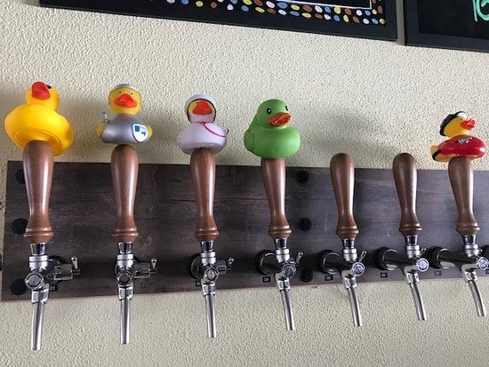 Craft Beers on Tap