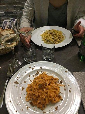 Nette Pasta und nette Bedienung