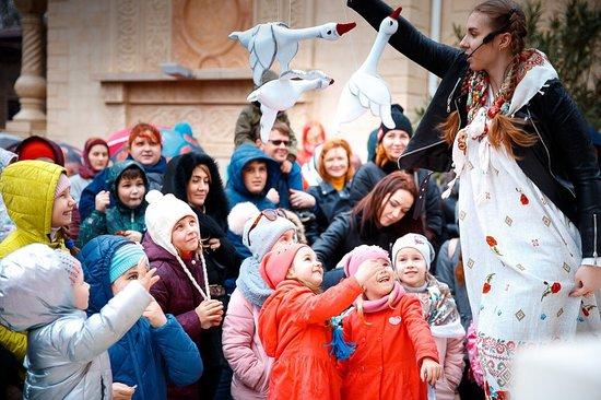 Gelendzhik, Oroszország: театр кукол Геленджик