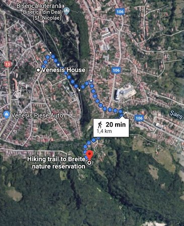 According to Google Maps, Venesis House is located in a perfect location for any activity: visiting, shopping, train station, hiking.