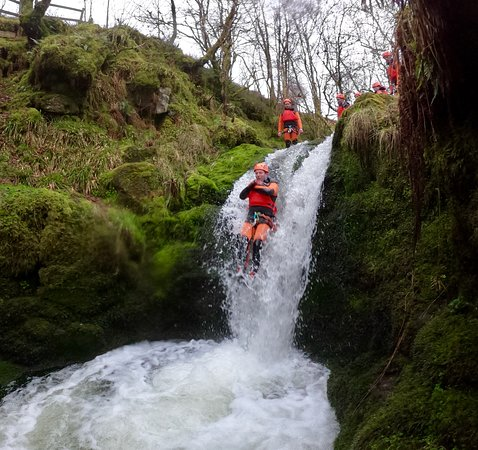 Amazing canyoning adventure with Intrepidus Outdoors from Edinburgh