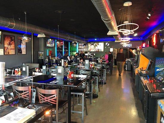 Flashback Retro Arcade Bar Grille Hyannis Menu