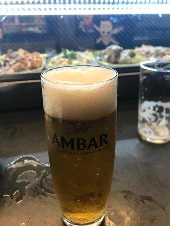 Lecker Ambar Bier darf nicht fehlen ...