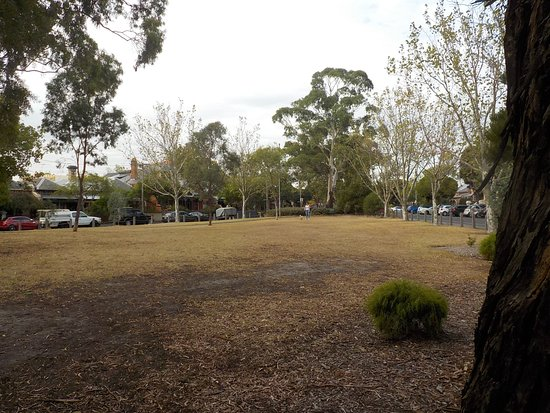 North Fitzroy, Australia: Open spaces, dry from Summer