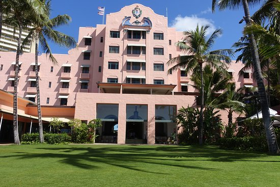 It S Peach Color Not Pink Picture Of The Royal Hawaiian A Luxury Collection Resort Waikiki Oahu Tripadvisor