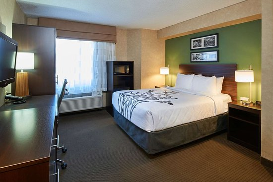 Sleep Inn Near Penn State: Guest room with queen bed(s)