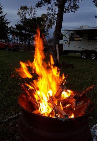 Cobourg, Canada: Camping