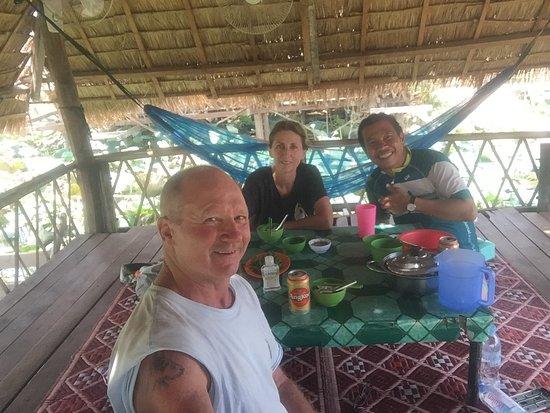 Lunch with Siya Pouv at Loyus Lilly farm