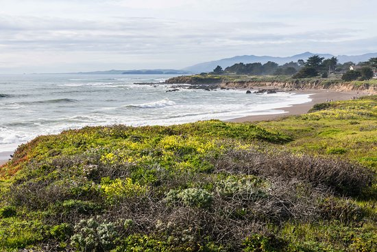 Moonstone Beach: View to the North from Boardwalk