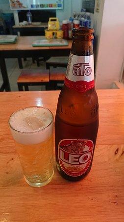 ビールは氷を入れて