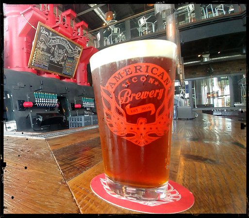 American Icon Brewery Kitchen & Taproom: American Icon Power Plant Amber Lager