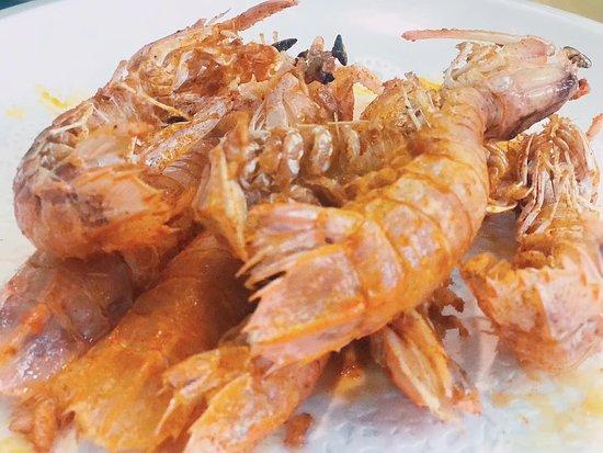 Pulau Pangkor, ماليزيا: 蝦很美味!
