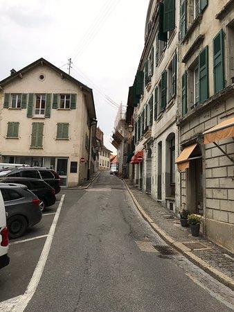 Stadtzentrum von Aubonne